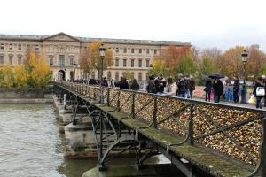 English Rose In Paris Pont Des Arts 2