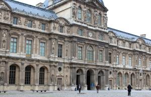 English Rose In Paris Louvre 1