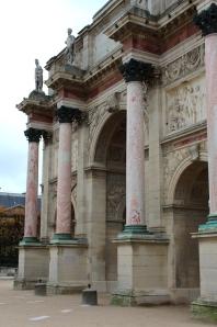 English Rose In Paris Arc de Triomphe du Carrousel