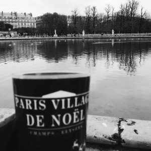 English Rose In Paris Christmas in a cup